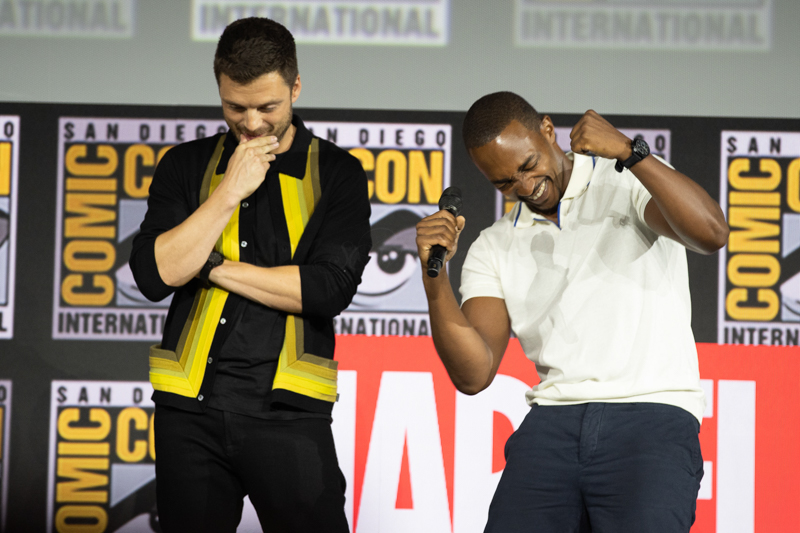 The Falcon and The Winter Soldier  @ SDCC 2019