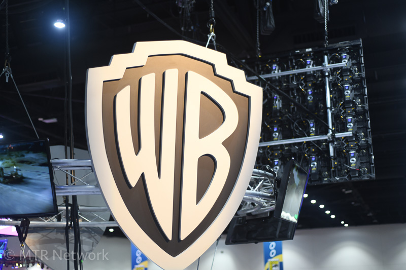 WB TV SDCC 2018 Booth Logo