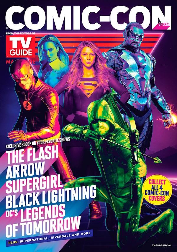 DC Super Heroes Cover TVGM SDCC 2018