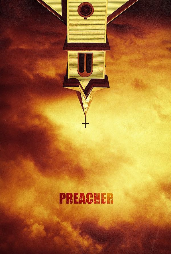 Poster for AMC's Preacher adaptation