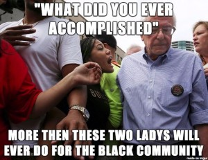 This is what some Bernie Sanders supporters actually think...