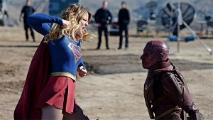 supergirl red faced image