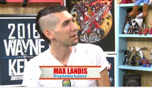 "Max: ""I want the 'its about ethics in gaming journalism' cut"" Barber: Say no more"