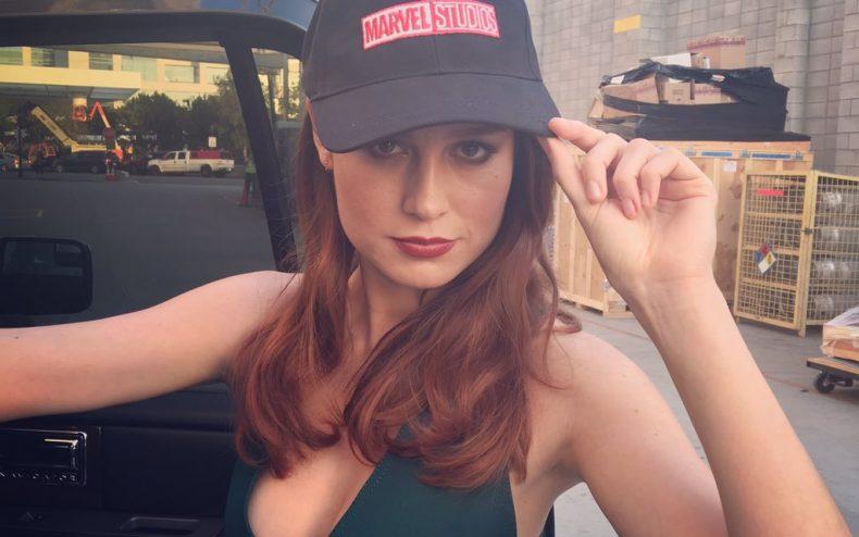 Brie Larson is Carol Danvers aka Captain Marvel