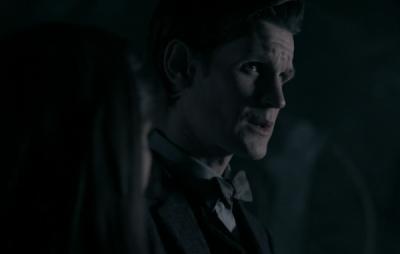 The Eleventh Doctor Matt Smith Talks to Clara