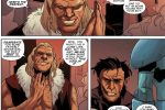Sabretooth taunts Wolverine after Wolverine kills his own son Draken