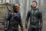 Arrow Lian Yu Review - Oliver Queen & Slade Wilson