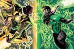 Green Lantern: Sinestro & Hal Jordan face off