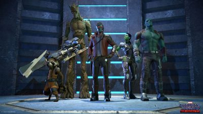 Guardians of the Galaxy Episode 1 - Tangled up in blue