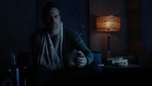 12 Monkeys Review - Todd Stashwickis as Deacon, injured and holding a drink