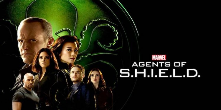 Agents of SHIELD - Agents of Hydra banner with Coulson, May, Daisy, Mack, Fitz & Simmons