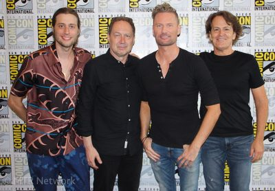 From Left to Right: Ludwig Goransson, Mark Isham, Brian Tyler & David Russo
