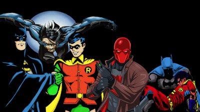 Dick Grayson and Jason Todd