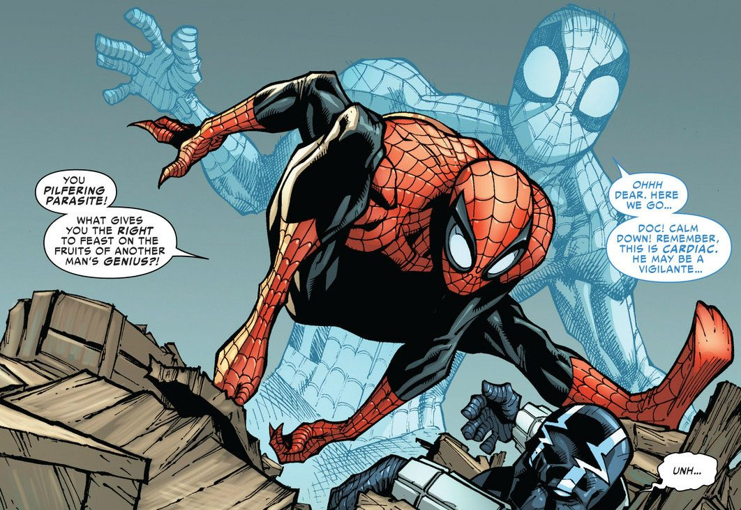 fef4e7c1 Superior Spider-Man: Otto Octavius Attempts to be a Better Spider ...