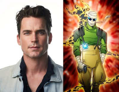 Matt Bomer will voice Negative Man on DC Universe's Doom Patrol