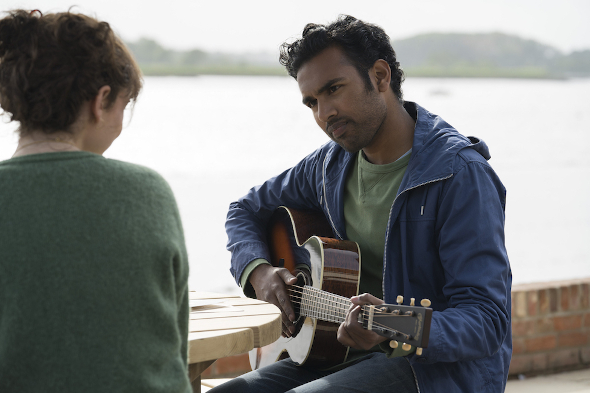 Lily James and Himesh Patel in Yesterday, courtesy Universal Pictures.