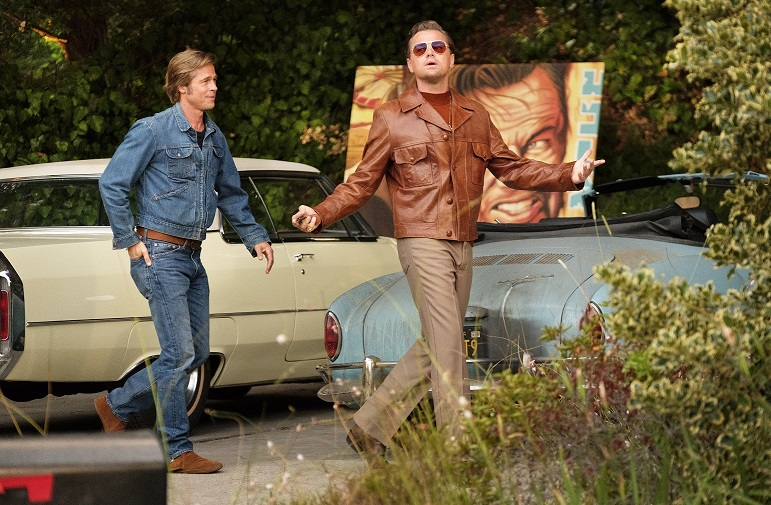 Brad Pitt and Leonardo DiCaprio - ONCE UPON A TIME IN HOLLYWOOD