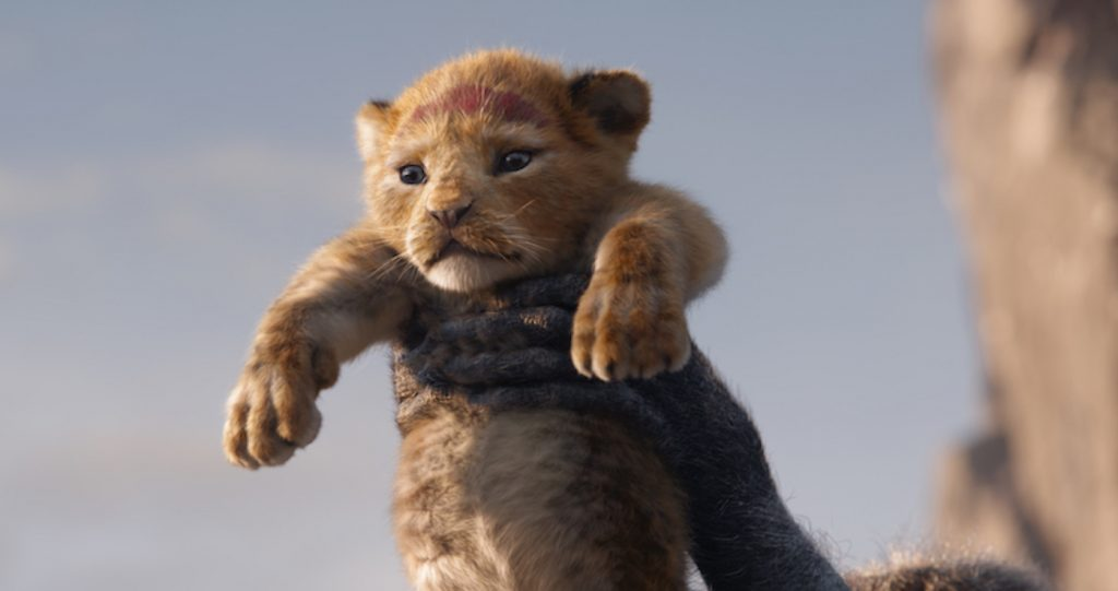 "A FUTURE KING IS BORN – In Disney's all-new ""The Lion King,"" Simba idolizes his father, King Mufasa, and takes to heart his own royal destiny. Featuring JD McCrary and Donald Glover as young Simba and Simba, ""The Lion King"" roars into U.S. theaters on July 19, 2019. ©2019 Disney Enterprises, Inc. All Rights Reserved."
