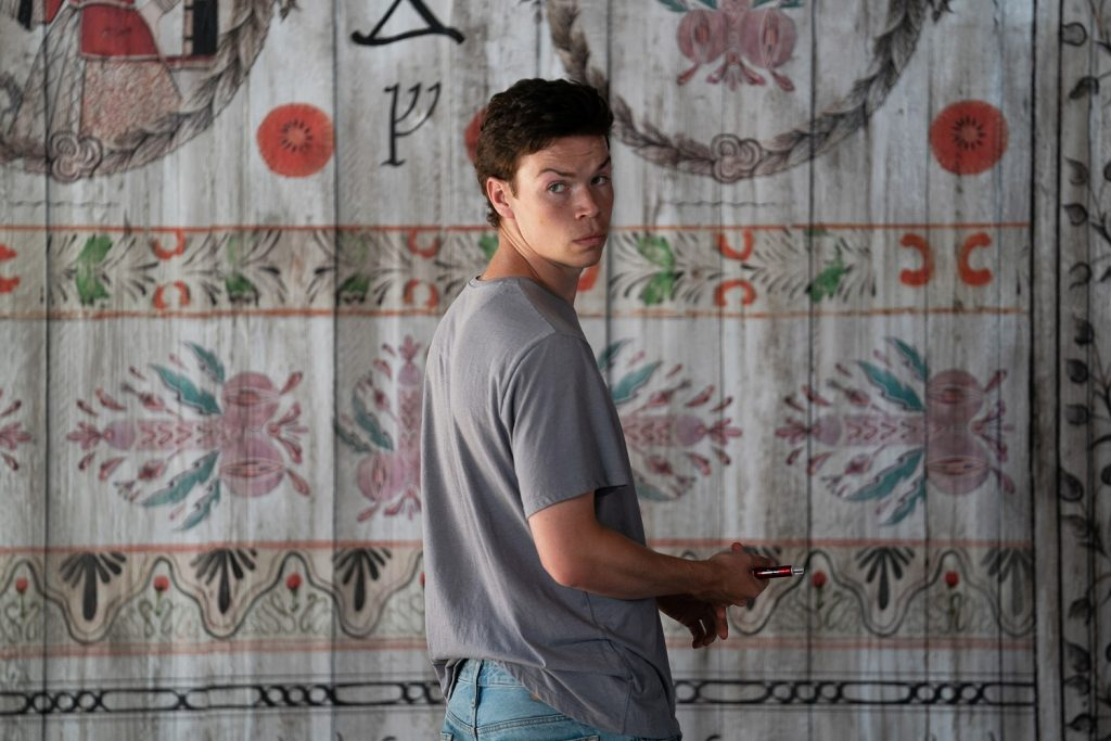Will Poulter in Midsommar Photo by Merie Weismiller Wallace, Courtesy of A24