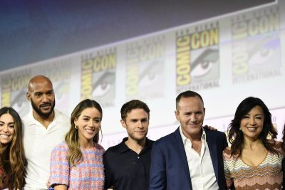 Agents of Shield Cast at Hall H SDCC 2019