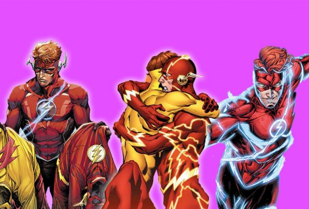 Various images of Wally West