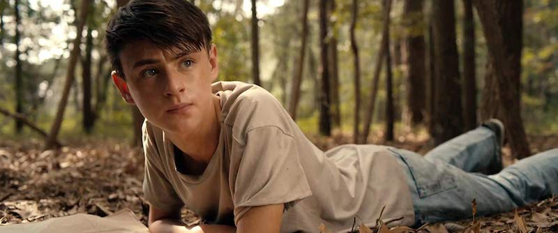 Jaeden Martell starring as Peter in Low Tide. Photo Courtesy of A24