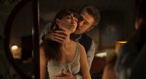 Steven Brand and Andrea Tivadar in Safe Inside (2019) SDIFF premiere