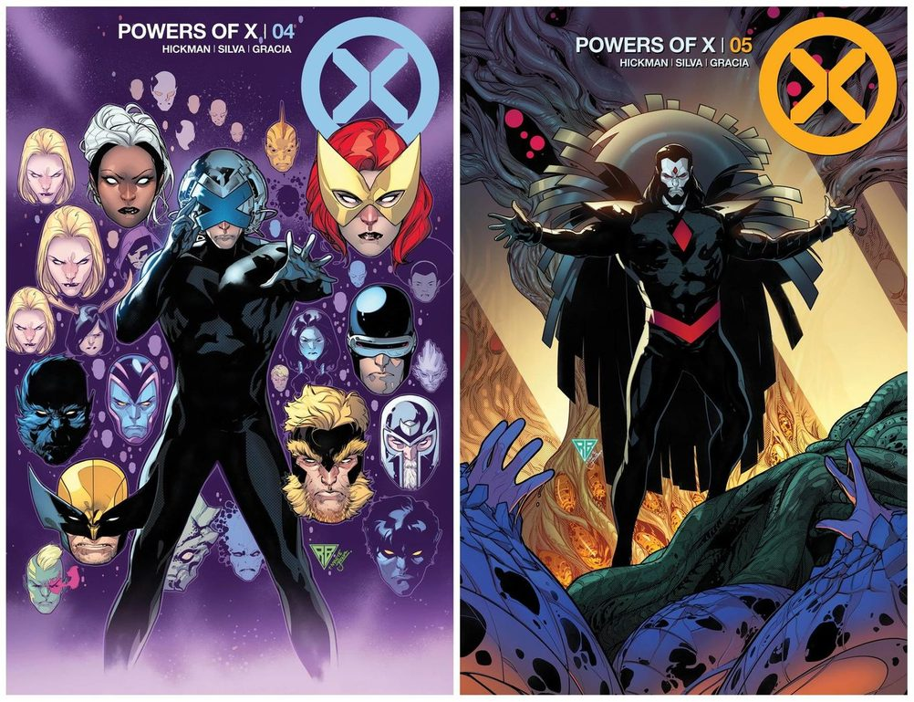 Month of X: Covers for Powers of X #4 and House of X #5