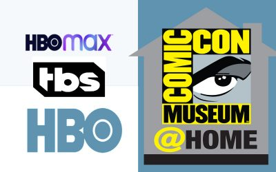 HBO HBOMax TBS Comic-Con@Home