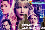 Supergirl S6 Key Art featuring the main characters. Inset: Melissa Benoist as Kara Danvers and Azie Tesfai as Kelly Olsen